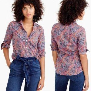 J.Crew Club collar shirt in Liberty Art Fabrics